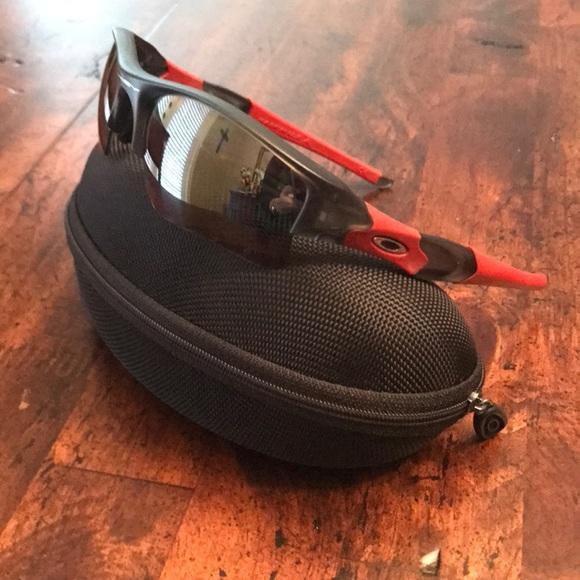 a1cfe1ea68 Custom made Oakley Flak Jacket sunglasses. M 5a43e1c846aa7c3fbd0989ad